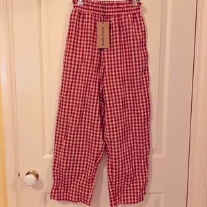 Princess highway Gertie Pants red/cream colour